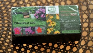 This brick will fill your city garden bag when you just add water!